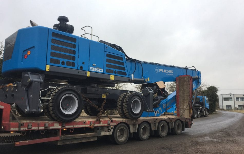 Whip Street invest in two new Fuchs MHL 350 Material Handlers