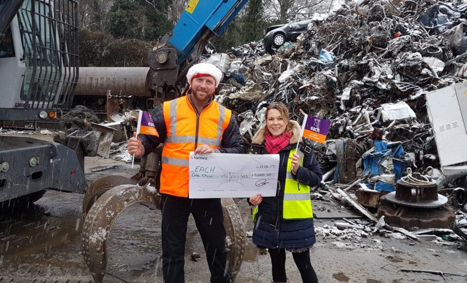 Whip Street Motors continues 'exceptionally generous' support of East Anglia Children's Hospices