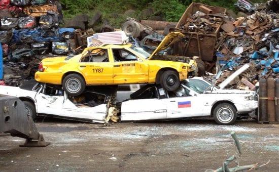 taxi scrap