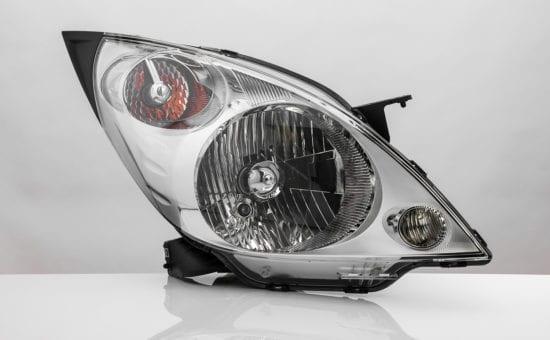 a car headlight